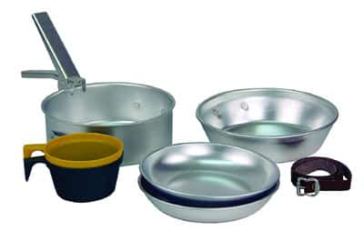 texsport camping cookware set