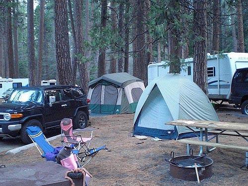 small campsites