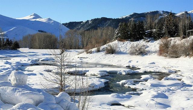 Sun Valley in winter