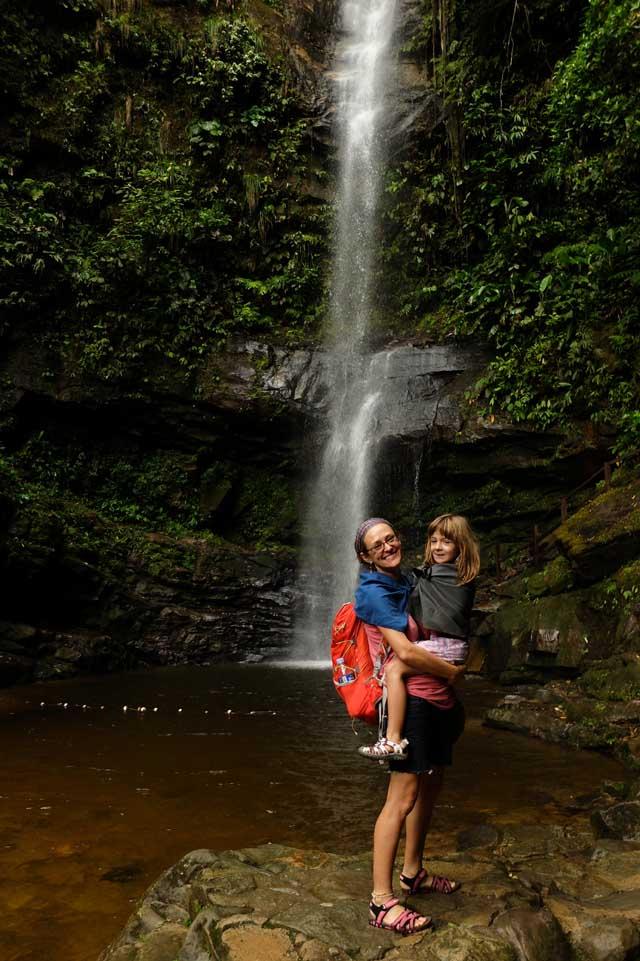 Ahuashiyacu waterfall
