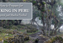 hiking in Peru