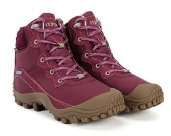 dimo mid vegan hiking boots for women