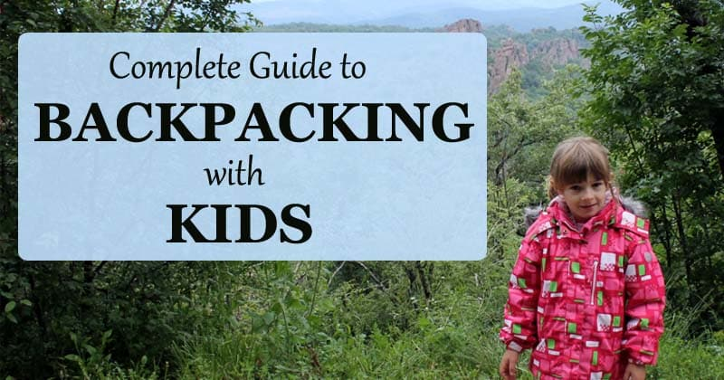 wilderness backpacking with kids