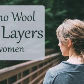 Merino wool base layers for women
