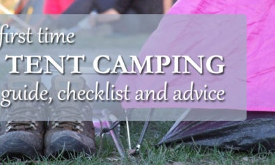 first time tent camping guide