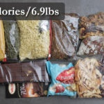 how much food to bring backpacking