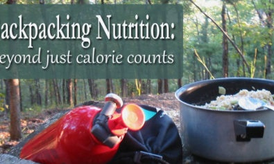 backpacking nutrition