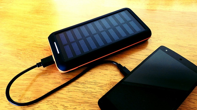 features of solar chargers for phones