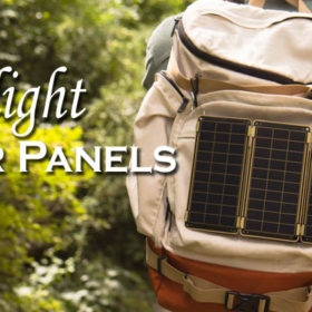 best ultralight solar panels