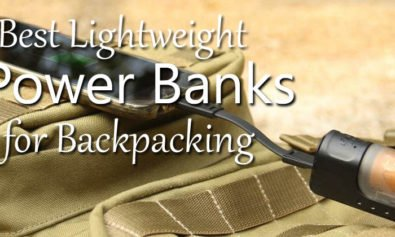best backpacking power banks
