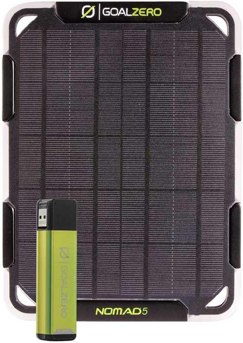 Goal Zero Nomad 5 solar charger