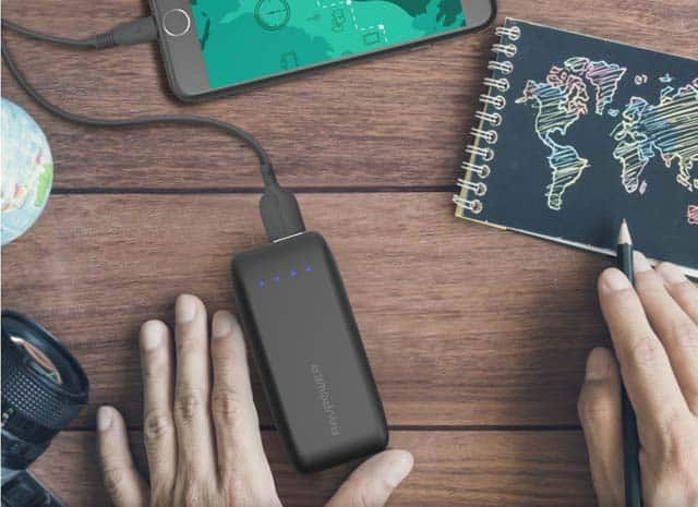RAVpower banks for backpacking