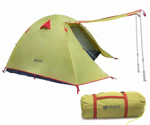 weanas ultralight tent