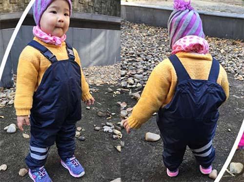 UmkaUmka fleece lined toddler rain pants