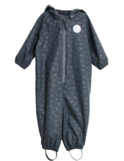 Wheat mika 1-piece rain suit for toddlers