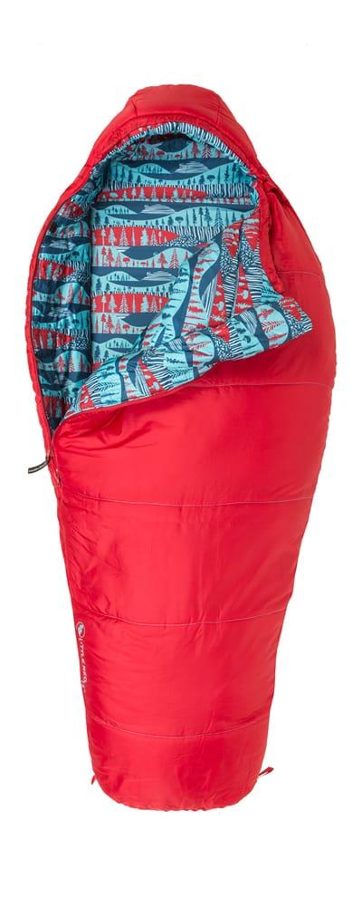 Big Agnes little red toddler sleeping bag
