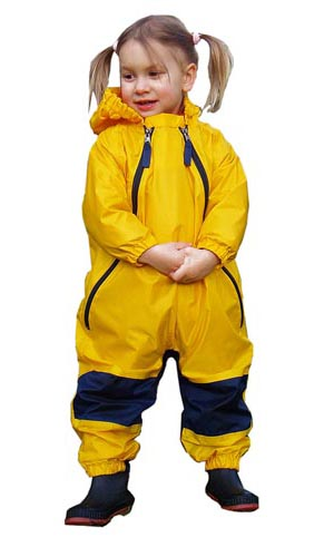 Tuffo Muddy Buddy toddler rain suit