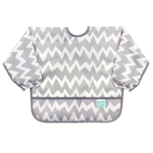 sleeved bib for toddler