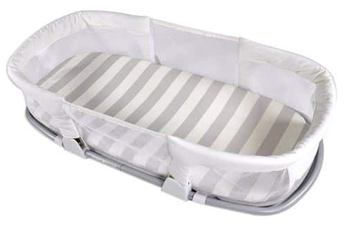 the SwaddleMe co-sleeping box