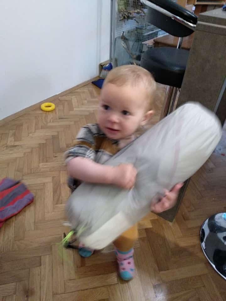 baby carrying Naturehike CloudUp 2 tent