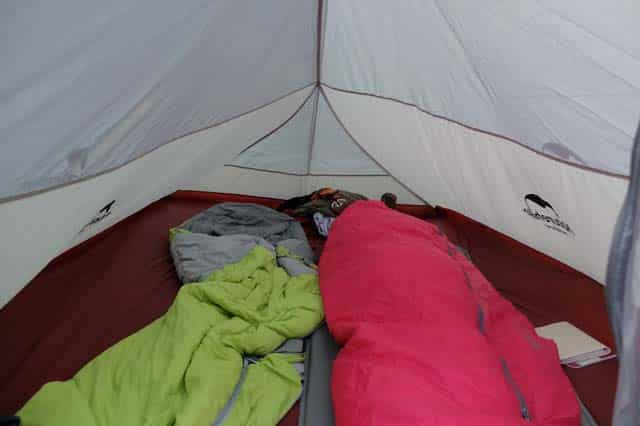 Cloud Up 2 tent with drooping walls
