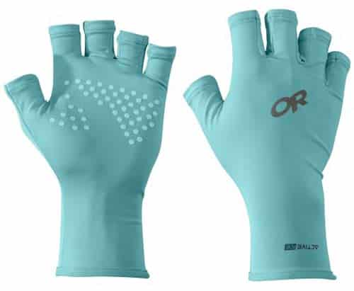 outdoor research activeice fingerless sun gloves