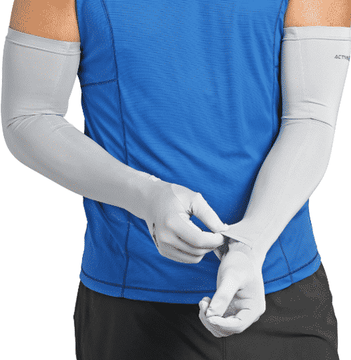 Outdoor Research sun sleeves with gloves