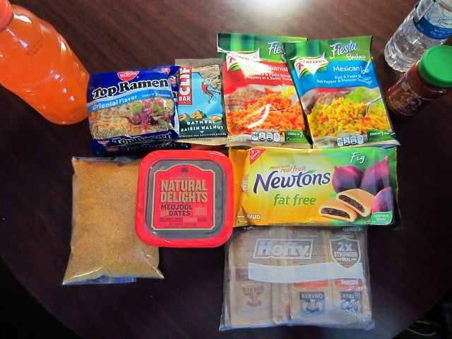 backpacking food for 4 days