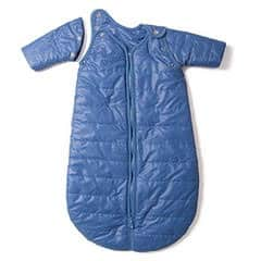 Babydeedee sleeping bag with removable sleeves