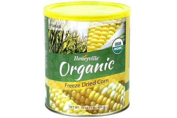 freeze dried corn