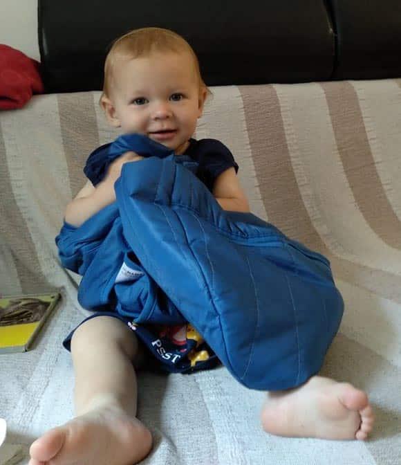snuggling babydeedee sleeping bag