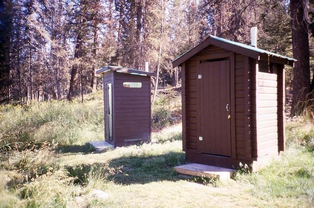 nice outhouses
