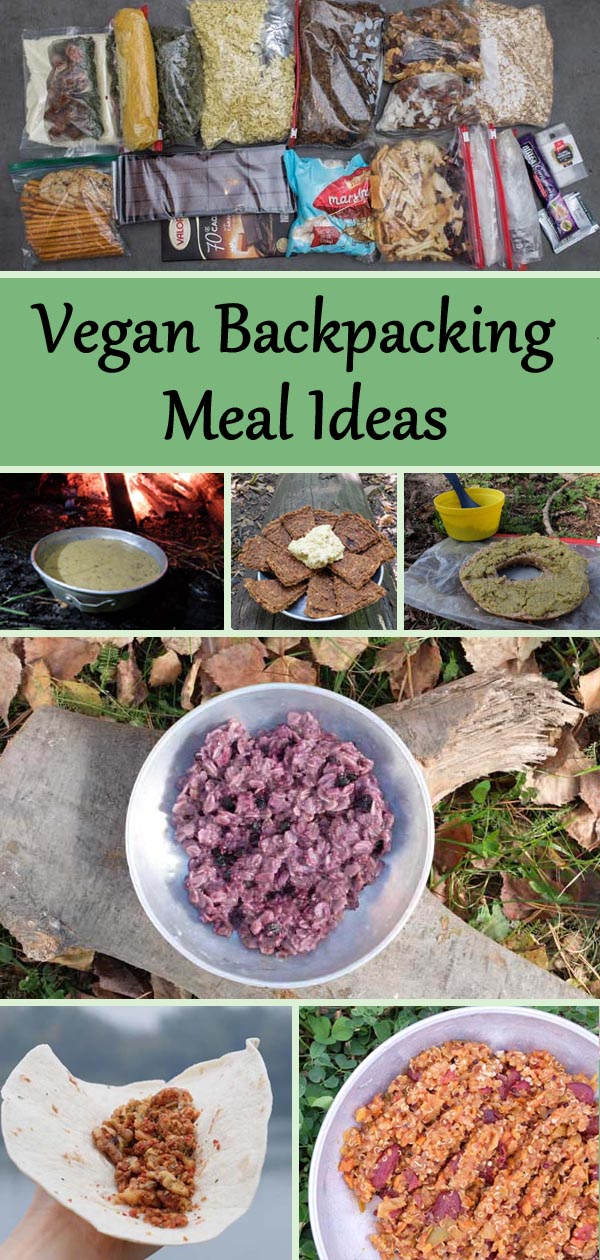 vegan backpacking meal ideas