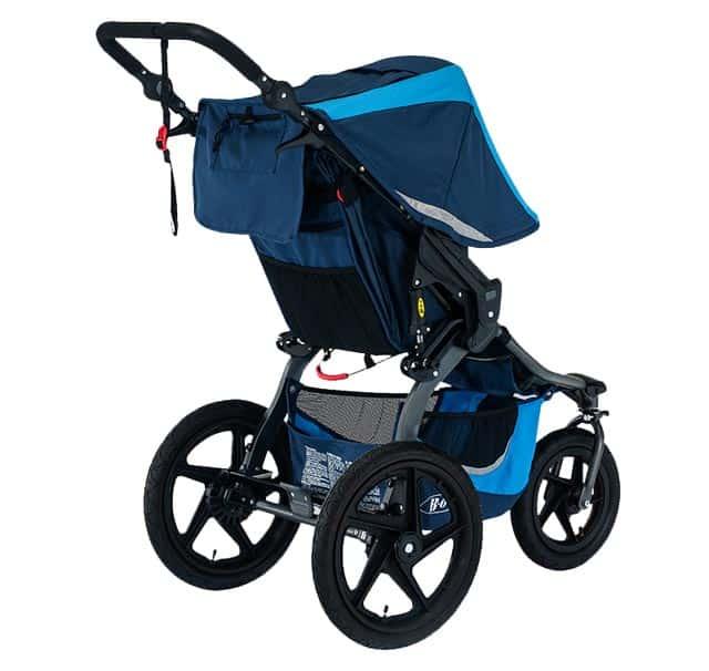 bob revolution flex 3.0 stroller behind