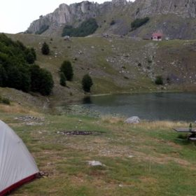 camping in Eastern Europe