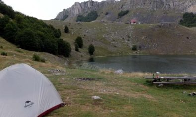 camping in Eastern Europe