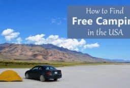 Free camping in Alvord Desert