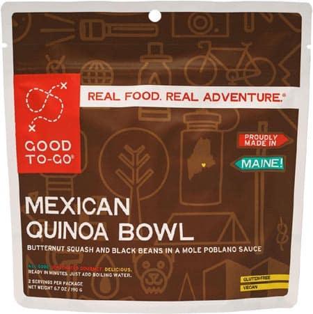 good to go mexican quinoa bowl