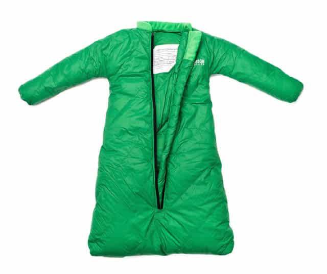 Morrison sleeping bag opened