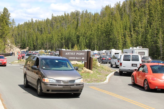 crowds at national parks