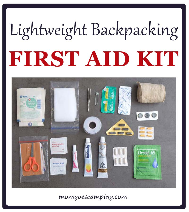lightweight backpacking first aid kit