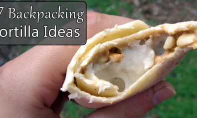 backpacking tortilla ideas