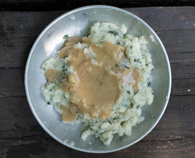 cold soak instant mashed potatoes