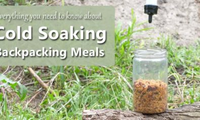 cold soaking backpacking meals