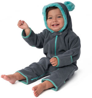 babydeedee fleece pajamas for camping