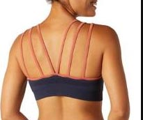 Smartwool seamless strappy hiking sports bra