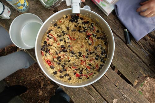 camping couscous