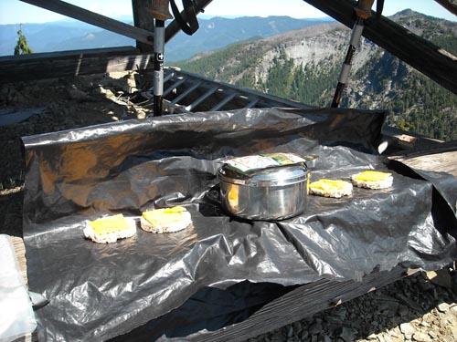 camping tuna melt