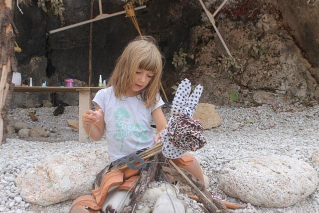 crafts camping activity upcycle