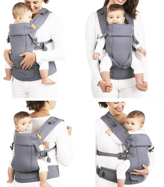 Beco gemini child carrier for hiking